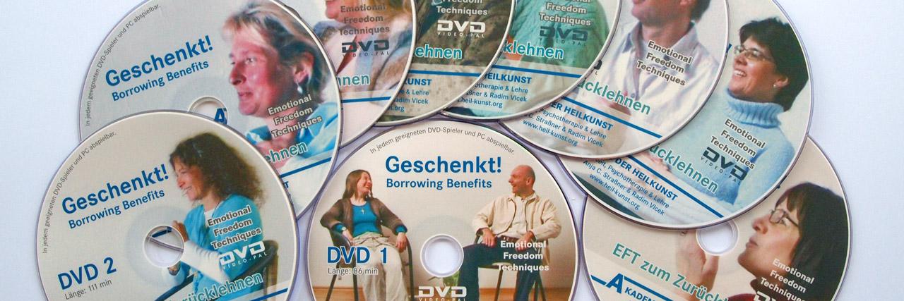 Das Borrowing Benefits EFT DVD Set für Selbsthilfe und Selbsttherapie