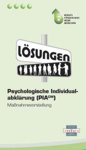 PIA - Psychologische Individualabklärung Flyer