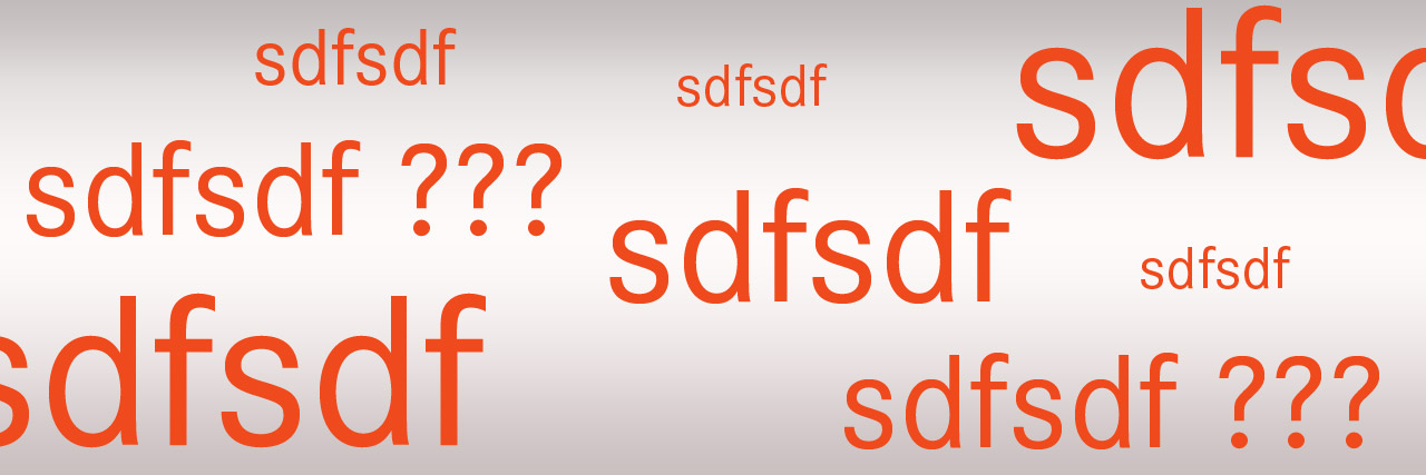 Buchstabenkombination sdfsdf
