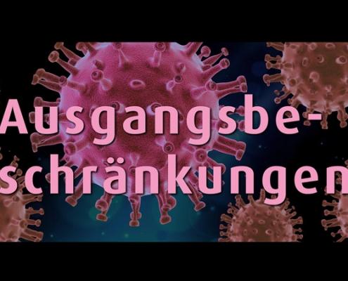 In Bayern ausgangsbeschraenkung psychotherapie